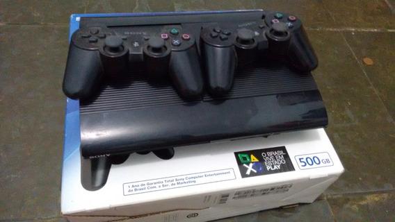 Playstation 3 Super Slim 500 Gb Novo