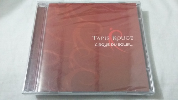 Cd Cirque Du Soleil-tapis Rouge/lacrado/869