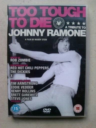 Johnny Ramone - Too Tough To Die Dvd Raro Ramones Importado