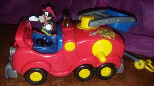 Camión De Bombero Con Sonido De Disney - Goofy