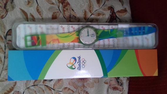 Relógio Exclusivo Olimpíadas Rio 2016 - Original Na Caixa