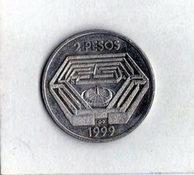 Argentina 2 Pesos 1999 Jorge Luis Borges - Conmemorativa