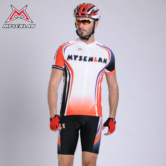 Roupa Para Ciclista Blusa+bermuda 1°linha Importada Mysenlan