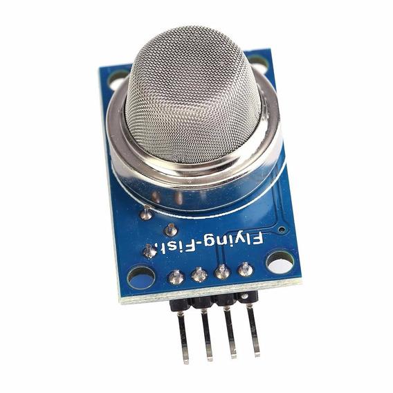 Módulo Sensor Mq-2 Gás Metano Butano Glp Fumaça - 0035
