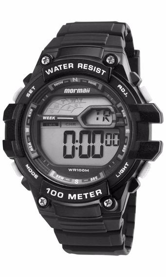 Relógio Mormaii Masculino Wave Digital Mo3480a/8k Oferta