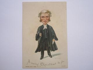 Cartão Natal Era Vitoriana Série Artística