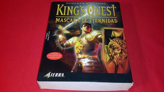 Pc Sin Juego Solo Caja King Quest Juego Computadora Antiguo