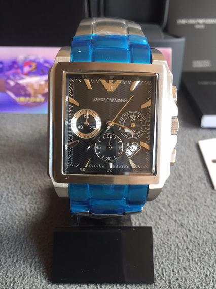 Relógio Emporio Armani Ar0659 Kaká Original Completo C/caixa