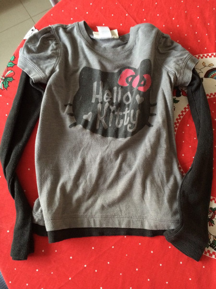 Playera Manga Larga Gap Hello Kitty Talla 5