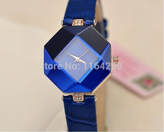 Relógio Azul Feminino