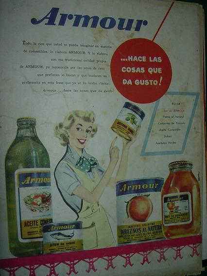 Publicidad Clipping Productos Armour Latas Botellas Frascos