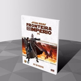 Livro De Rpg Star Wars-fronteira Do Império - Kit Do Mestre