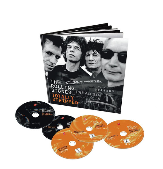 Rolling Stones - Totally Stripped [ 4bd+1cd ] Earbook Deluxe
