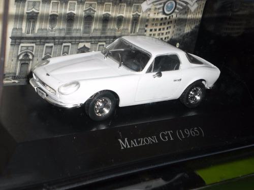 Auto Mazoni Gt 1965 Escala 1:43 Colección Ixo Metal