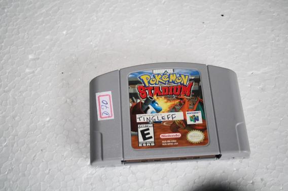 Nintendo 64 Jogo Pokemon Stadium Testado Original