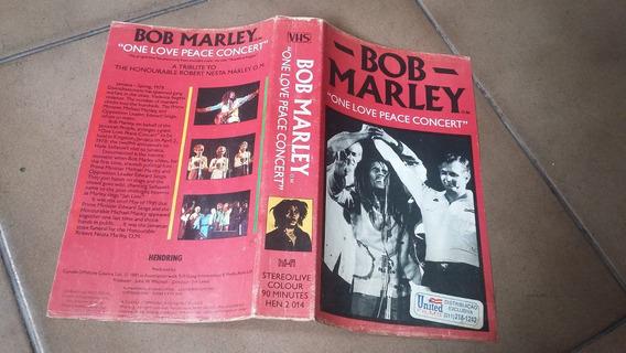 Fita Vhs Bob Marley One Love Peace Concert 1981 - Raríssima