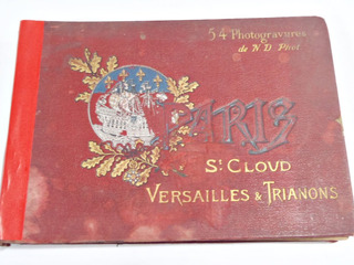 53 Photos Paris Francia Versailles Trianons Ca1910
