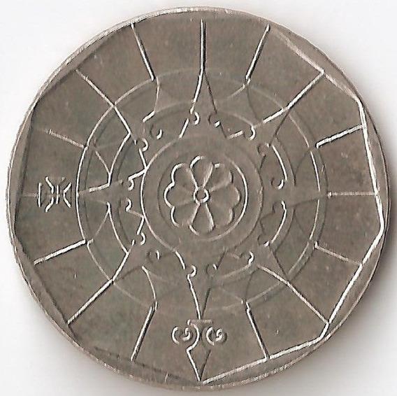 Portugal, 20 Escudos, 1998. Sin Circular