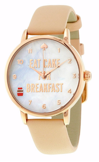 Reloj Kate Spade Acero Piel Beige Mujer 1yru0892