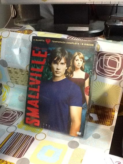 Dvd Smallville 4ª Temporada 6 Discos