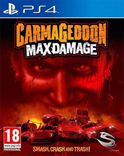 Jogo Midia Fisica Carmageddon Max Damage Ps4 Playstation