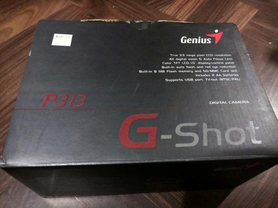Cámara Digital Genius G-shot P313