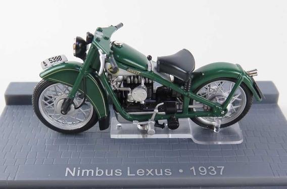 Miniatura Moto Nimbus Lexus Ano 1937 - Raridade, Na Caixa !!