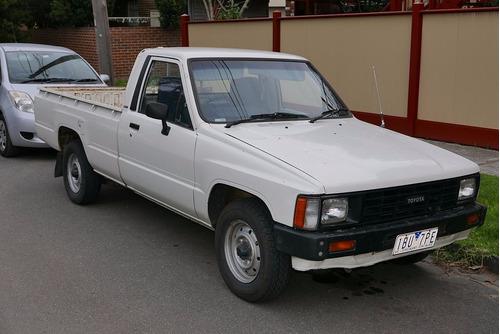 Manual De Taller Toyota Hilux (1984-1988) Español