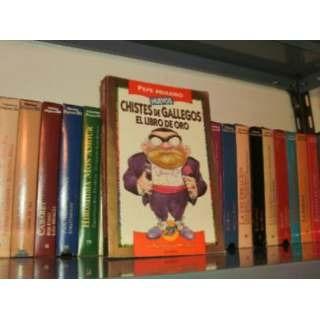 Nuevos Chistes D Gallegos Libro D Oro Pepe Muleiro Retro Kxz
