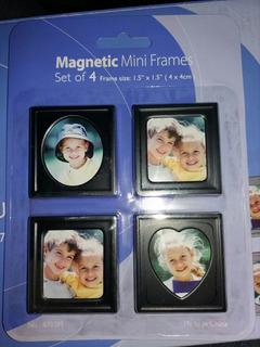 Set 4 Mini Portaretratos Magnéticos Souvenir