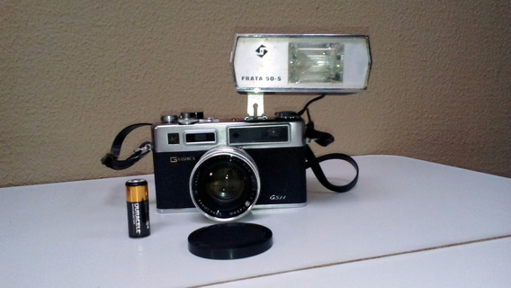 Maquina Fotográfica Yashica Electro 35 Gsn 35mm C/flash