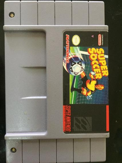 Super Soccer - Super Nintendo Snes - Original Playtronic