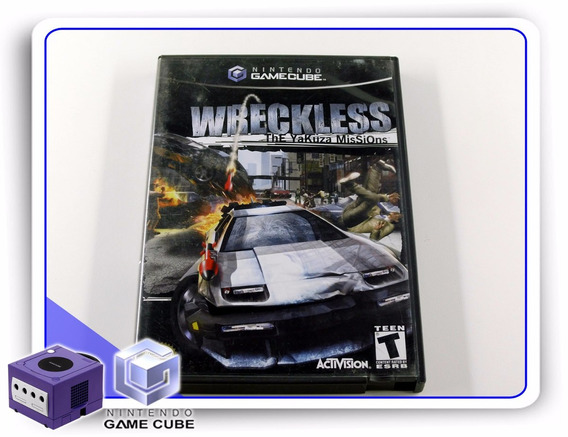 Gc Wreckless The Yakuza Missions Original Gamecube