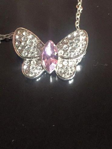 Collar Swarovski Dije Mariposa