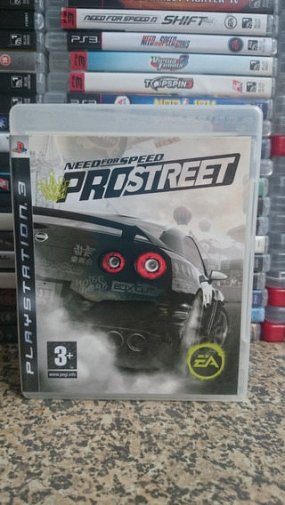 Need For Speed Pro Street Ps3 Midia Fisica-frete R$10
