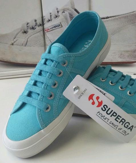 Superga Cotu Classic Azul