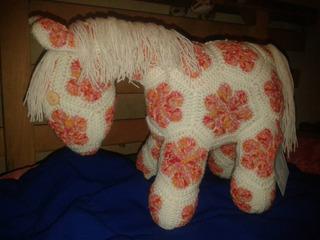 Muñeco Amigurumi Caballo Tejido Crochet