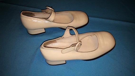 Zapatillas / Zapatos De Bautizo Comunion Cortejo Para Niñas