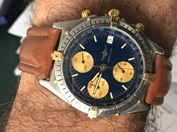 Relógio Breitling Ouro Aço;