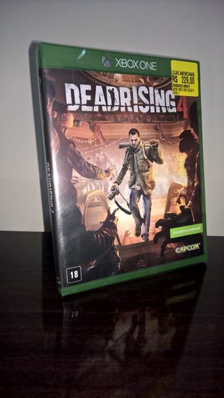 Dead Rising 4 Xbox One Novo Lacrado Midia Fisica!