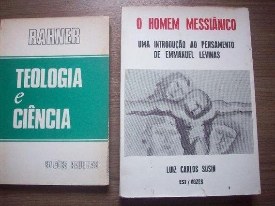 Dois Livros Teologia/filosofia
