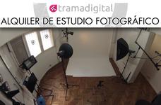 Estudio Fotografico Alquiler 2 Hs $ 550. Con Equipos