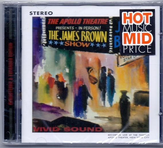 Cd James Brown - Live At The Apollo ( 1962 ) - Novo***