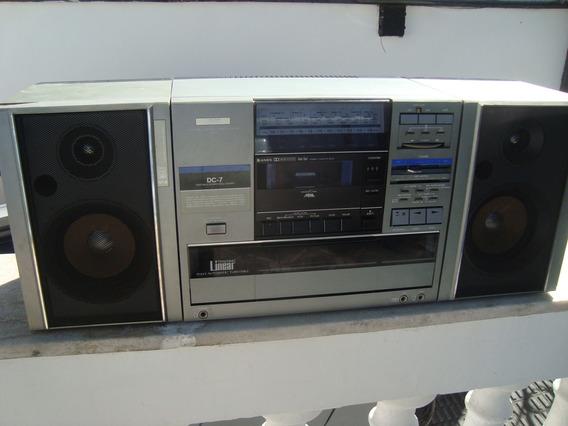 Mini System Jvc Linear Japonês, 100% Funcional. Leia.