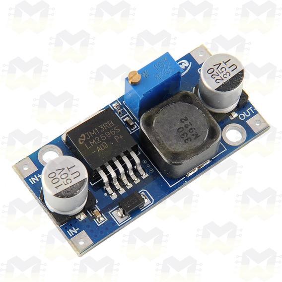 Regulador De Tensão Dc Lm2596 Ajustável 3a Arduino Esp8266