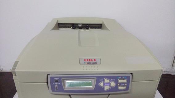 Impressora Oki C5400 - Funcionando - Sem Drum!!!!