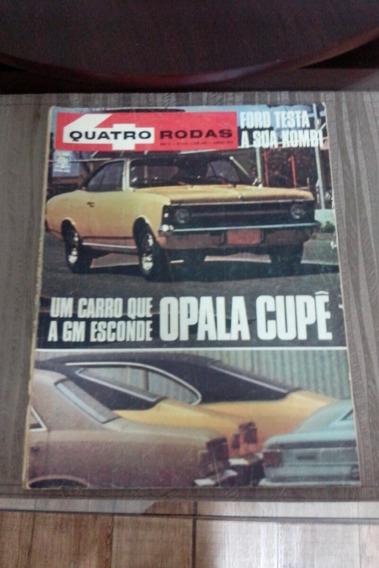 Revista Quatro Rodas Edição 119 Junho De 1970