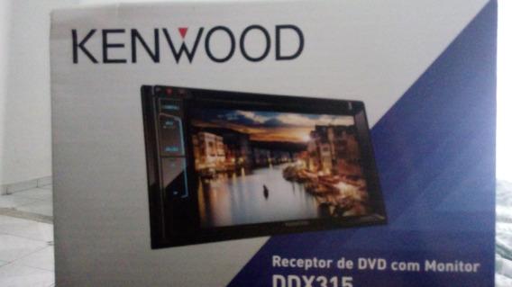 Dvd Player 6,2 Kenwood Ddx315, Usb, Aux, Controle