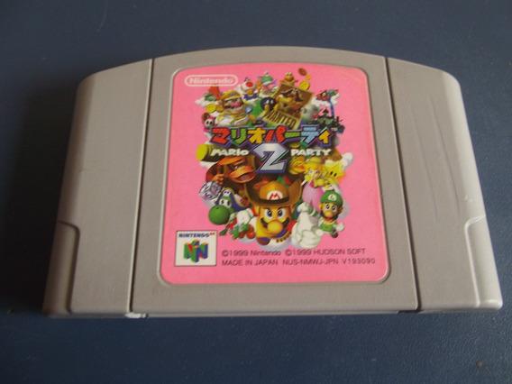 Mario Party 2 Original Japonês Nintendo 64