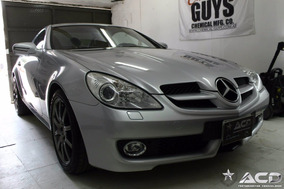 Mercedes Benz Clase Slk 350 Cgi Blue Efficiency At Roadster